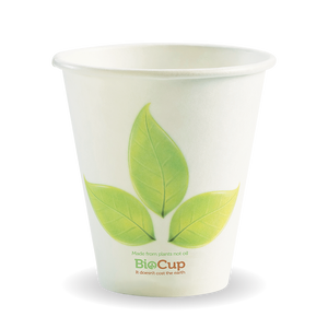 8oz (90mm) Leaf BioCup - Bulk Buy- 1000 Cups