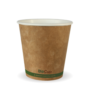 6oz Green Stripe BioCup - 1000 Cups