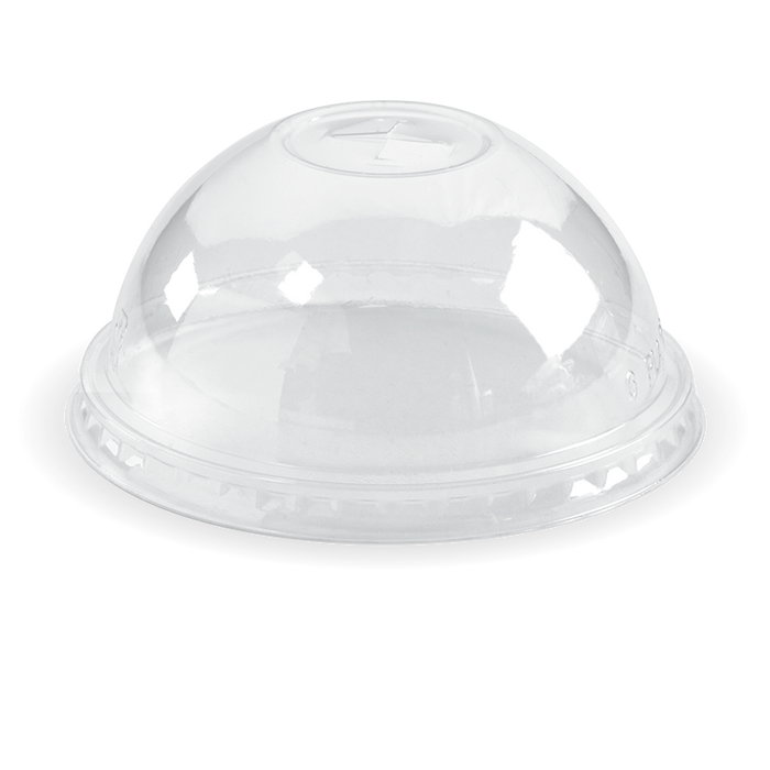 300-700ml Clear Dome X-Slot Lid - 1000pcs