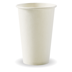 12oz (80mm) White BioCup - 1000 Cups