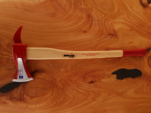 Splitting axe with hookaroon  750mm hickory handle