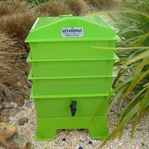 Worms Farm Vermihut Lime W/Free Worm Blanket Inc.