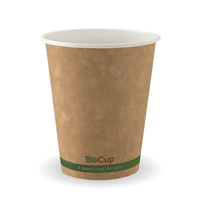 8oz Green Stripe BioCup - 1000 Cups