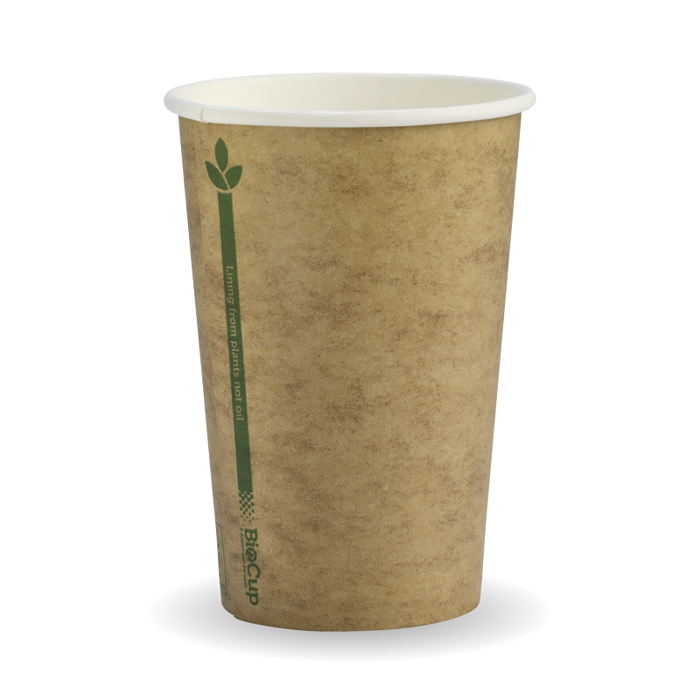 10oz Kraft Green Line BioCup- 1000 Cups