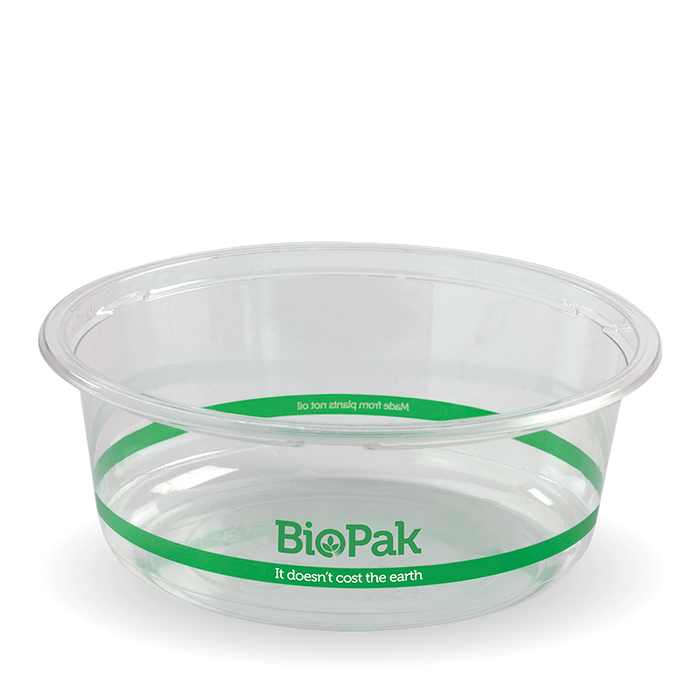 600ml Clear Wide BioBowl -600pcs