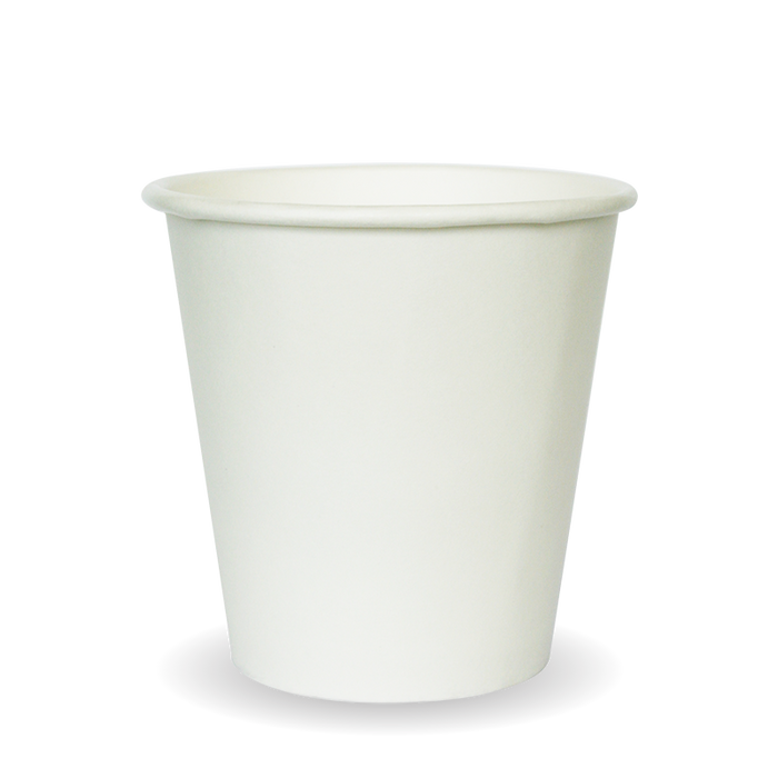 6oz White BioCup - 1000 Cups
