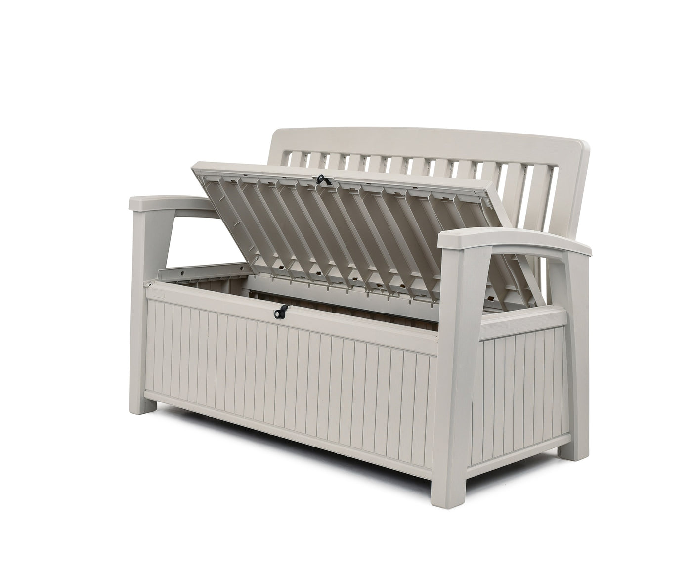 Picture of: Patio Storage Bench In Stock In Two Colours White Anthracite 8 Eco R Us