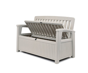 PATIO STORAGE BENCH in stock in two colours – White & Anthracite. - $8.95 Shipping Australia Wide