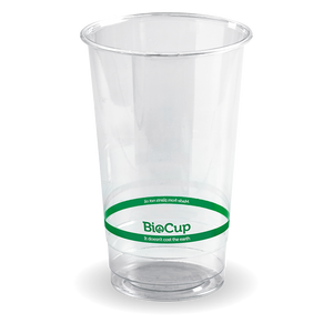 700ml Clear BioCup - Bulk Buy- 1000pcs