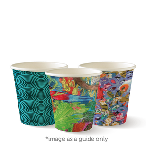 6oz Art Series BioCup - 1000 Cups