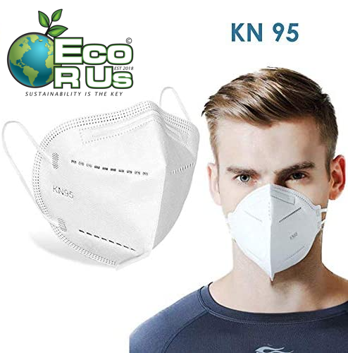 5 x High Quality Soft Certified Face Mask Respirator (Limited Stock) - Eco R Us