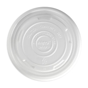 12, 16, 24 and 32oz BioBowl PLA Lid - 500pcs