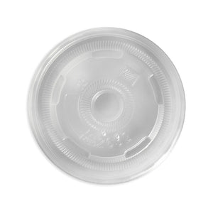 oz PP Clear Flat Lid- Bulk Buy- 1000pcs