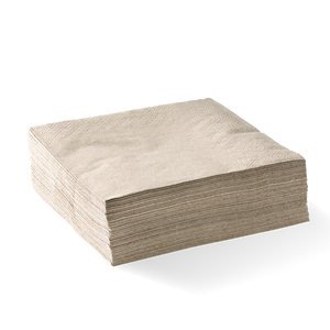 2 Ply 1/4 Fold Natural Emb'sed Dinner Napkin- 1000pcs