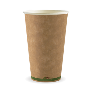 16oz Green Stripe BioCup - 1000 cups