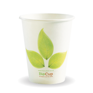 8oz Leaf BioCup - Bulk Buy- 1000 Cups