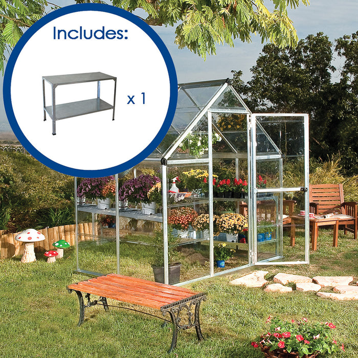 Palram 6′ x 4′ Greenhouse Pack Pre Order Mid July