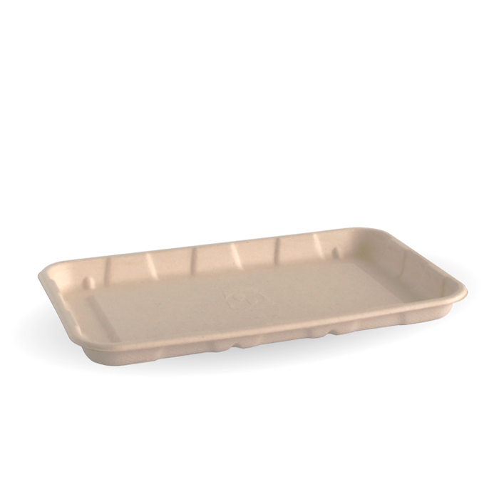 "8x5"" BioCane Produce Tray- 500pcs"