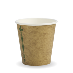 6oz Kraft Green Line BioCup - 1000 Cups