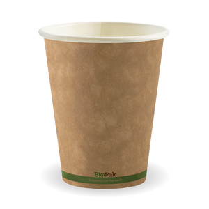 12oz Green Stripe BioCup - 1000 Cups
