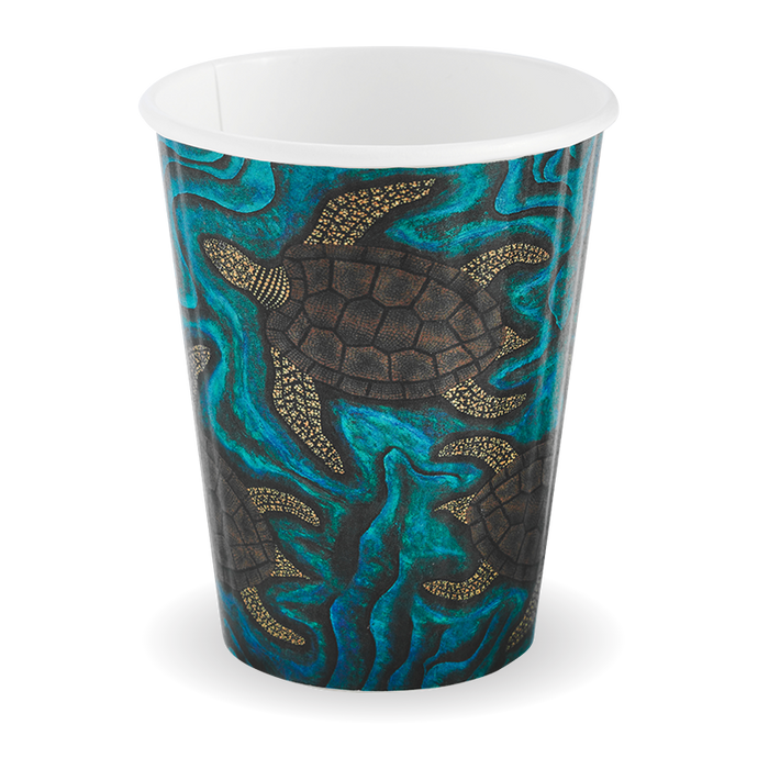 12oz Double Wall Indigenous BioCup - 1000 Cups