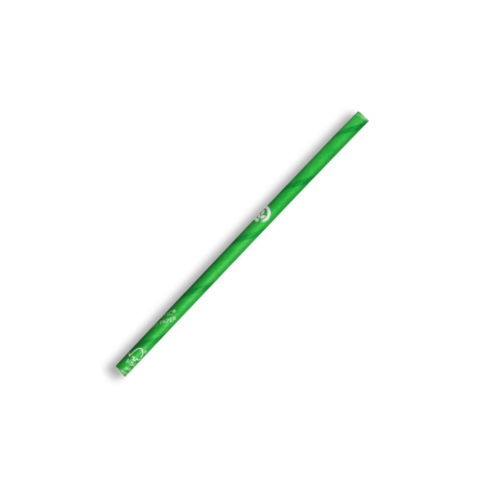 Cocktail Green BioStraw- 2500pcs
