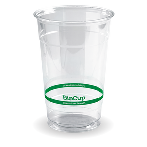 600ml Clear BioCup - Bulk Buy- 1000pcs