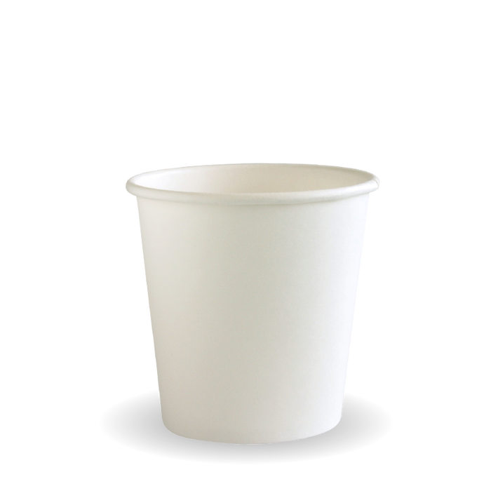 4oz White BioCup - 2000 Cups