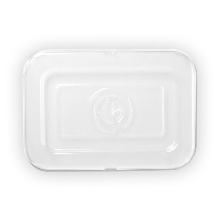 500ml and 600ml Clear PET Takeaway Base Lid- 500pcs