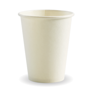 12oz White BioCup - 1000 Cups