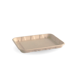 "6x5"" BioCane Produce Tray- 1000pcs"