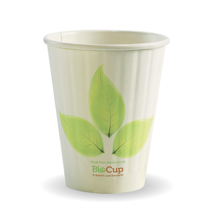 8oz Leaf BioCup - Double Wall - 1000 Cups