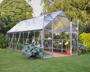 Maze 8 x 16′ Silver Frame Greenhouse pre order for July delivery