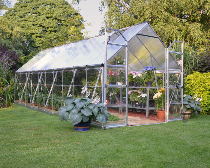Maze 8 x 20′ Silver Frame Greenhouse pre order for July delivery