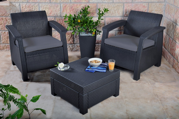 Keter Outdoor Furniture Balcony Set (Corfu)