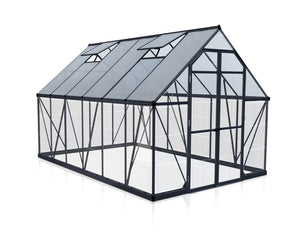 Maze 8 x 12′ Grey Frame Greenhouse