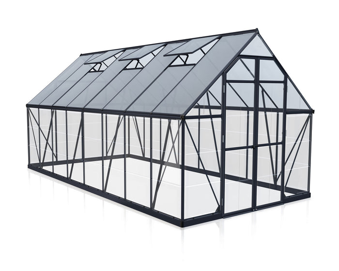 Maze 8 x 16′ Grey Frame Greenhouse pre order Late November delivery