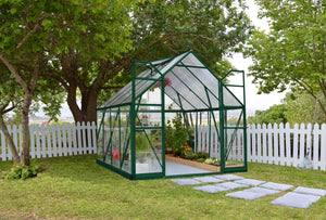 Maze 8 x 8′ Green Frame Greenhouse pre order for July delivery