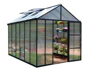 Maze Glory 8 x 12 Premium Class Greenhouse – 10 Year Warranty