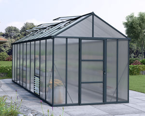 Maze Glory 8 x 20 Premium Class Greenhouse – 10 Year Warranty Eco R Us
