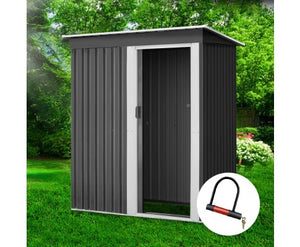 Garden Shed Eco R Us 1.64x0.89M Outdoor Storage Sheds Tool Workshop Shelter Metal