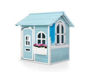 Kids Eco Friendly Cubby House Outdoor Wooden Playhouse- Eco R Us