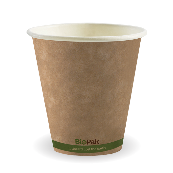 8oz (90mm) Green Stripe BioCup - 1000 cups
