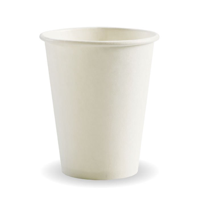 8oz White BioCup - 1000 Cups