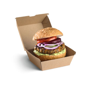 Burger BioBoard Box- Bulk Buy- 250pcs