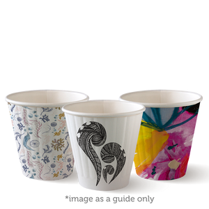8oz (90mm) Art Series BioCup - Double Wall - 1000 Cups