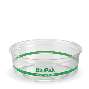 240ml Clear BioBowl - Bulk Buy- 500pcs