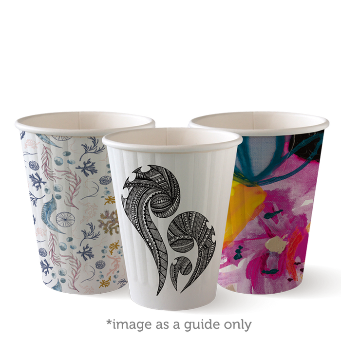 8oz Art Series BioCup - Double Wall - 1000 Cups