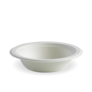 12oz White BioCane Bowl- 1000pcs