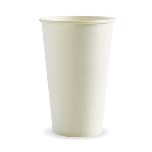 16oz White BioCup - 1000 Cups